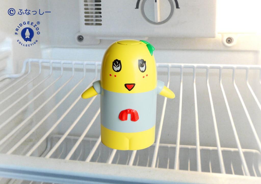 冷蔵庫のふなっしー